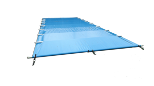 Safety Winter Pool Cover for pool 8,25 m x 3,10 m